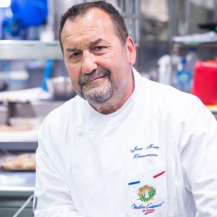 Chef Jean Marie Zimmermann