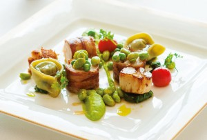 Monkfish and scallops recipe from Jean-Marie Zimmermann